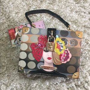 Nicole Lee colorful NWT handbag